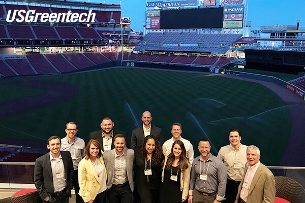 USGreentech Great American Ballpark