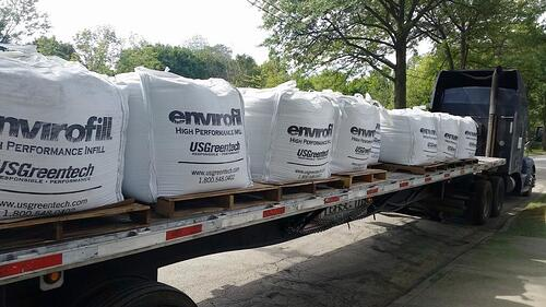 Envirofill Super Sacks Infill Turf Project USGreentech