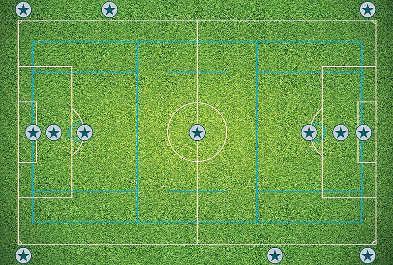 Infill Maintenance - High wear areas on a Soccer or lacrosse field
