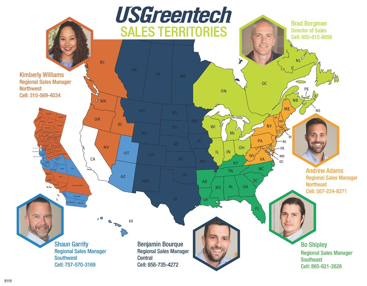 2019 USGreentech Sales Territory Map_Customer - JPEG