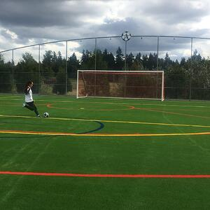 Heritage Recreation Center Soccer Field- Pierce County Parks & Recreation - USGreentech Envirofill Turf Infill