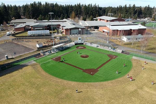 Pierce County Parks & Recreation - Heritage Recreation Center Baseball Field Turf Envirofill Infill