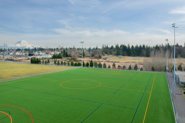 Pierce County Parks & Recreation - Heritage Recreation Center Soccer Field Turf Envirofill Infill2