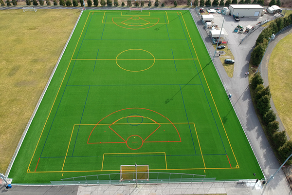 Pierce County Parks & Recreation - Heritage Recreation Center Soccer Field Turf Envirofill Infill3