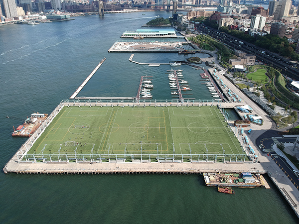USGreentech - Brooklyn Bridge Park - Organic Infill Safeshell