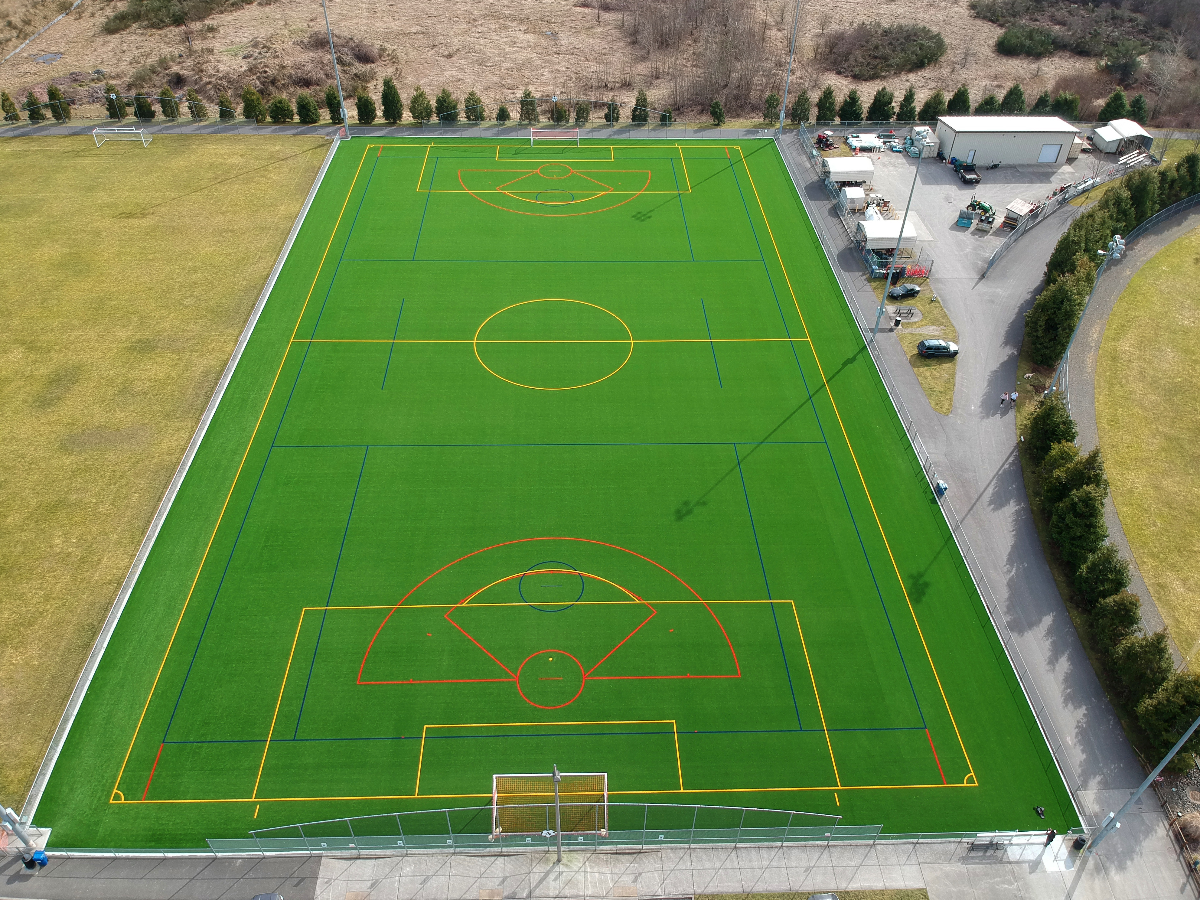 USGreentech Heritage Recreation Center Soccer - Pierce County P&R Envirofill