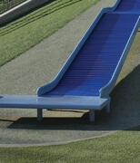 Synthetic Turf Playground Slide