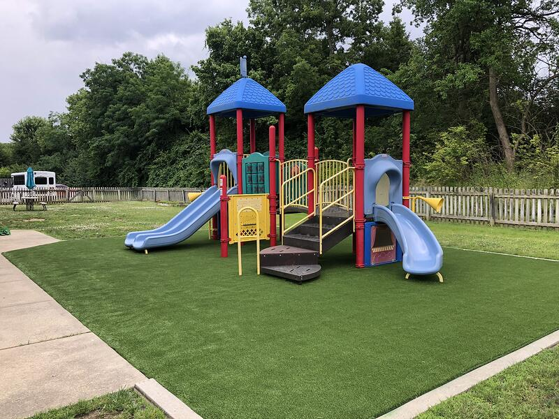 Synthetic Turf Playground with Envirofill Infill