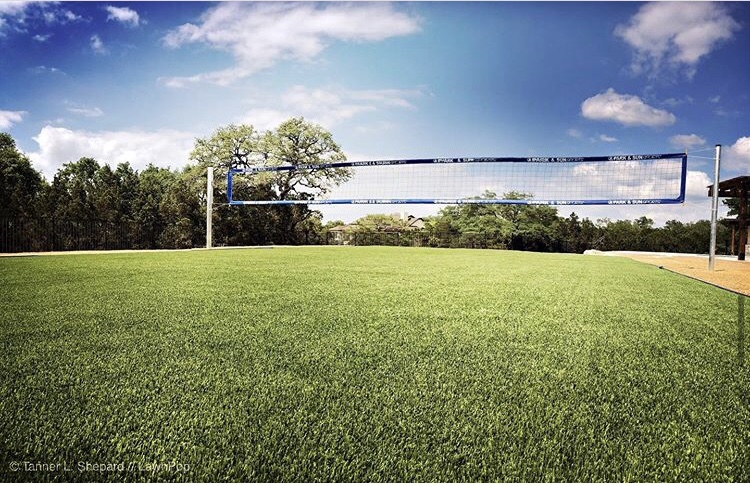 Synthetic Turf Volleyball with Envirofill Infill