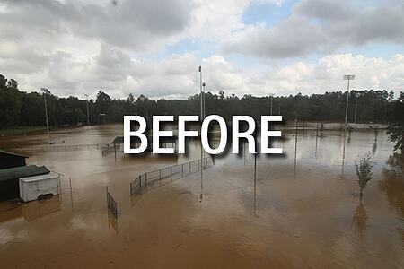 UNC Chapel Hill Synthetic Turf After Hurricane Florence3