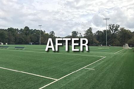 UNC Chapel Hill Synthetic Turf After Hurricane Florence32