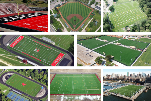USG - 2020 Envirofill and Safeshell Artifical Turf Fields