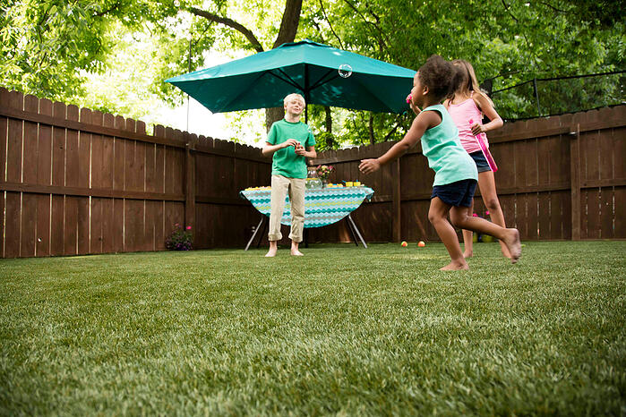 Is Artificial Grass Safe for Kids