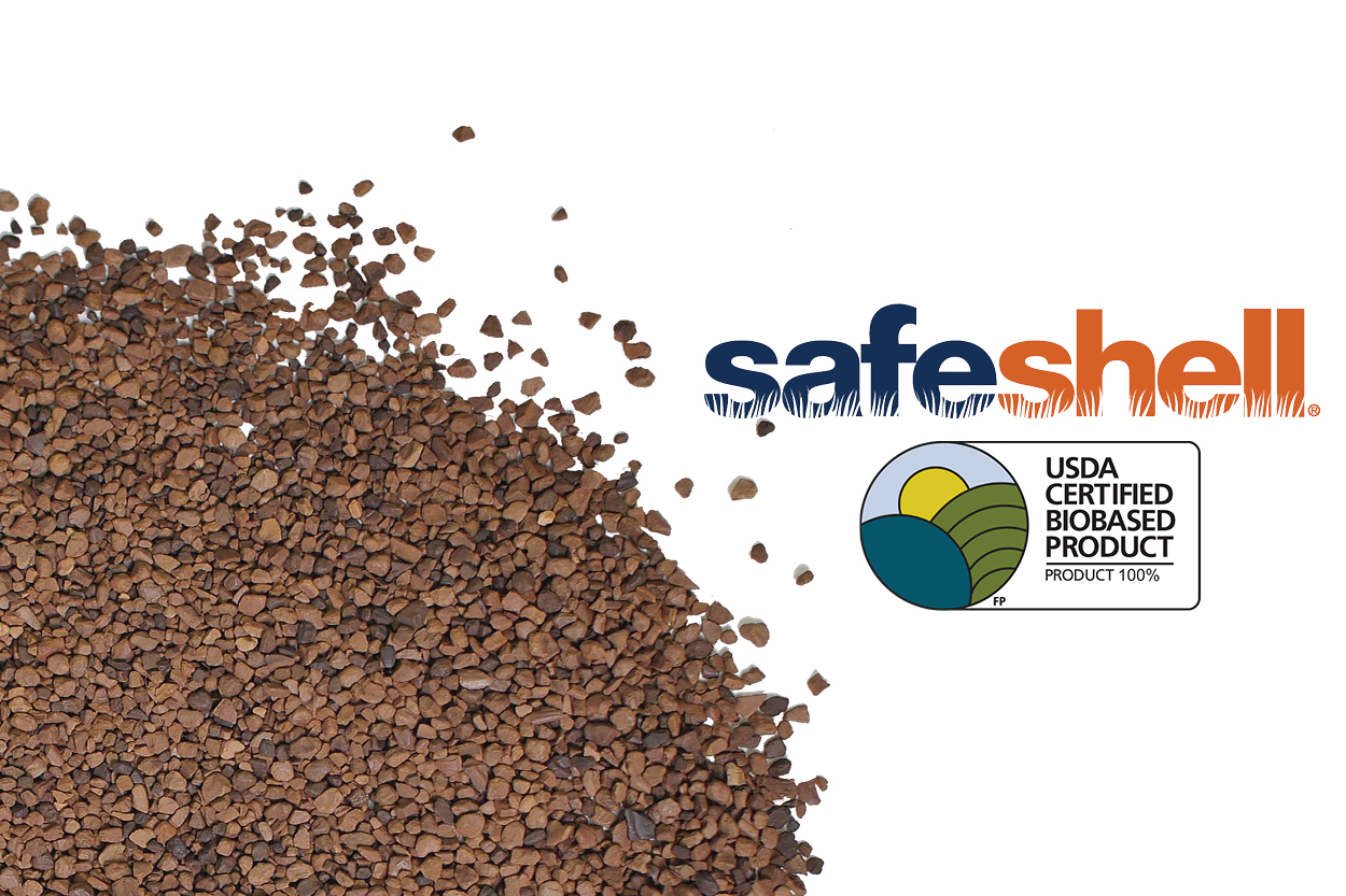 Safeshell Synthetic Turf Infill Earns USDA Certified Biobased Product Label