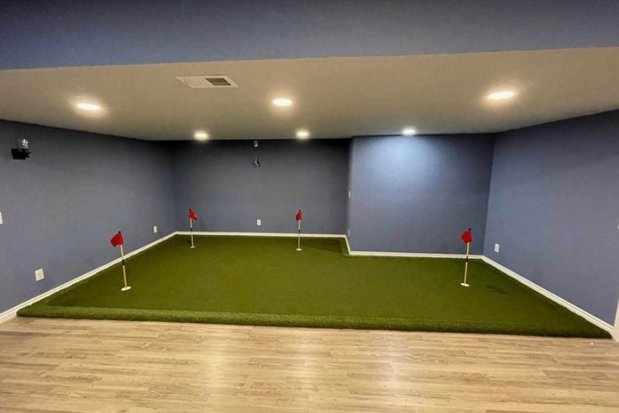 From Pitch to Putt: Indoor Putting Green Turf Systems Explained