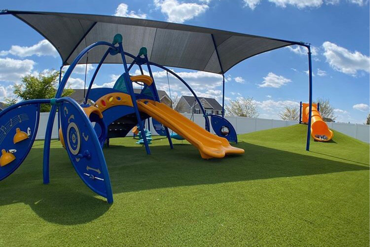 Envirofill Installed in a Playground Application at Golden Path Academy for Performance and Safety