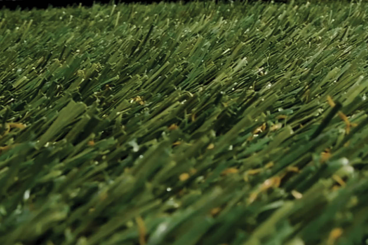 How to get turf fibers in artificial grass to stand up tall when they're flat