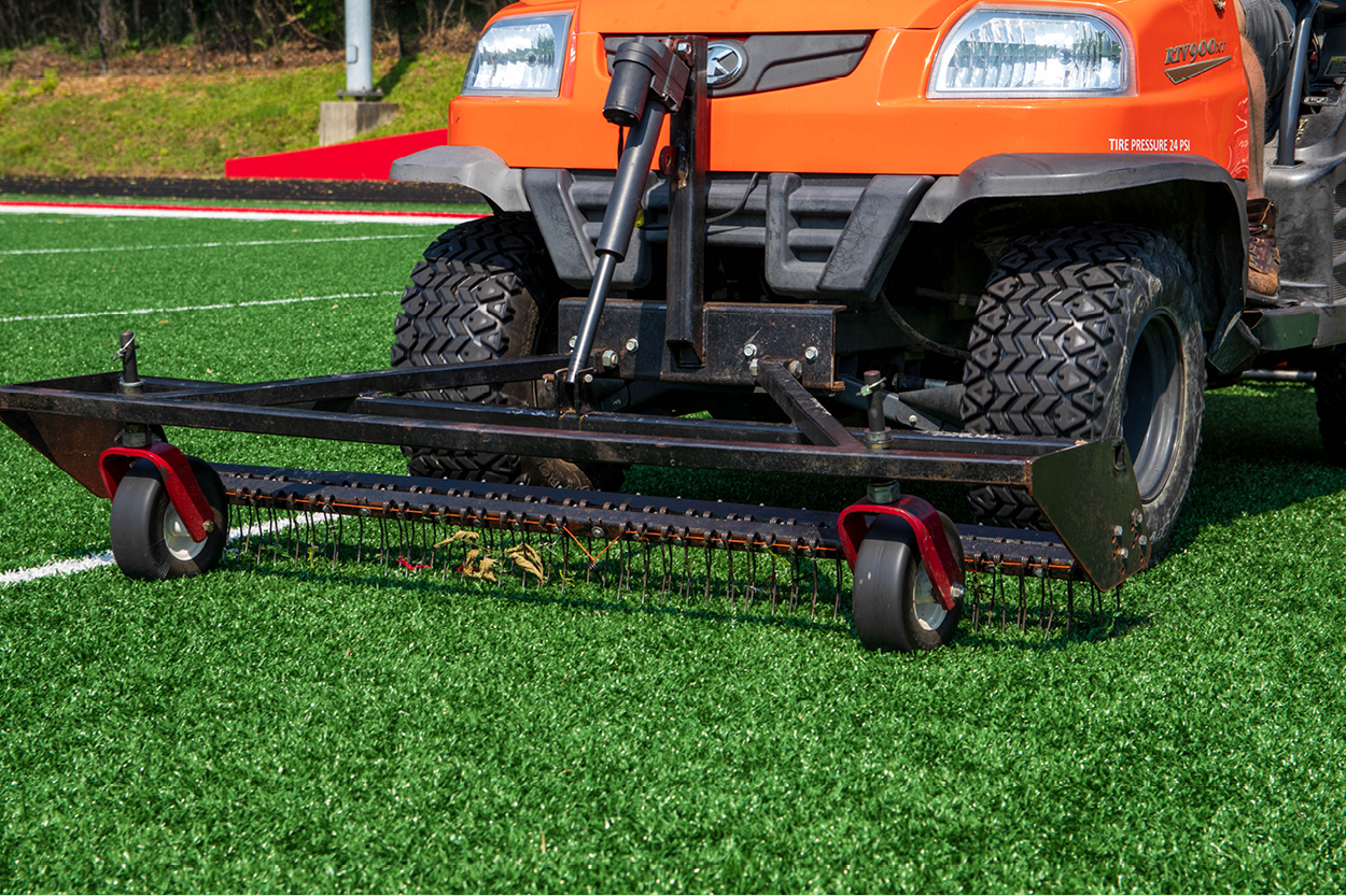Tips and Tricks for Synthetic Turf Sports Field Maintenance