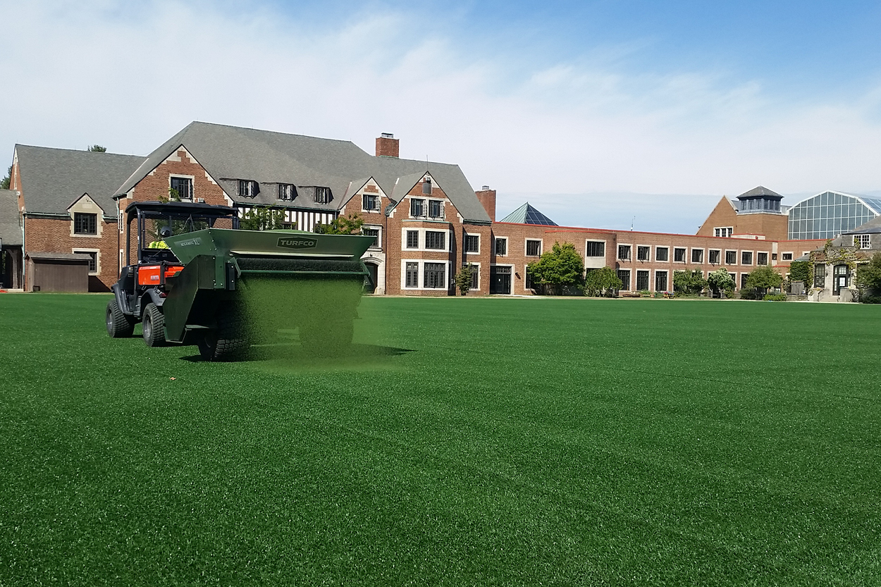What Does Regular Maintenance of Artificial Turf Sports Fields Involve?